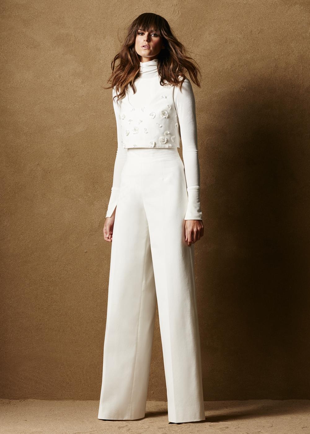 Cotton Velvet Vest w/Appliques 2