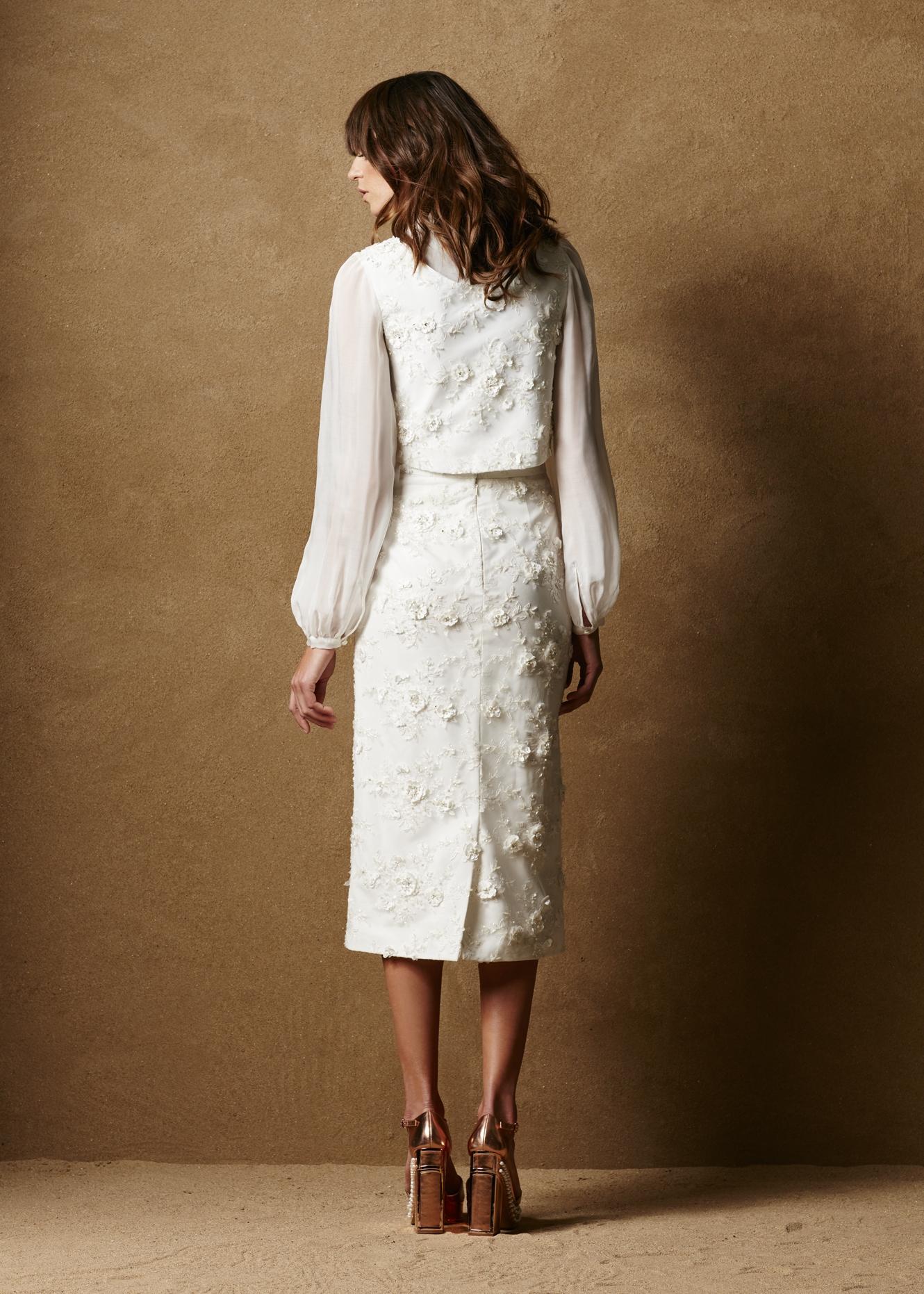 Embellished Tulle Vest 2