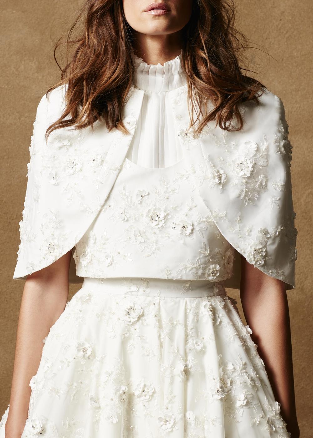 Embellished Tulle Vest 1
